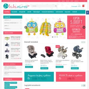 Babaváros webshop